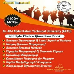 AKTU-MBA- 2 SEMESTER MCQ BOOKLET -4100-MCQ
