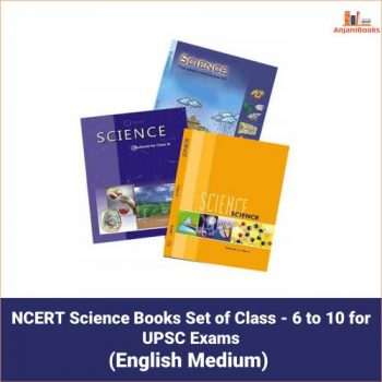 NCERT Science Books Set of Class – 6 to 10 for UPSC Exams
