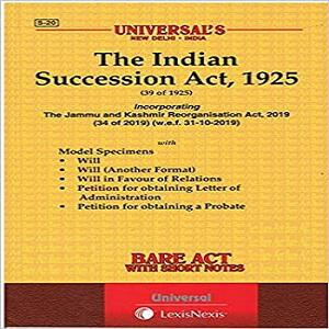 Universal's Succession Act, 1925
