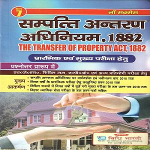 The Transfer of Property Act ,1882 Pre & Mains Examination