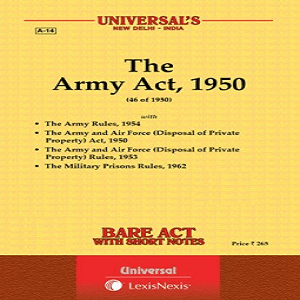 Universal's The Army Act 1950 Bare Act [2021]
