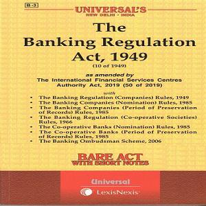 Universal's The Banking Regulation Act,1949 (Bare Act) [2021]
