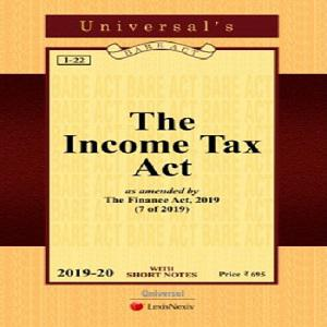 Universal's Income Tax Act (Pocket Size Bare Act) 2020-21