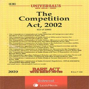 Universal's The Competition Act, 2002 (Bare Act,) 2021