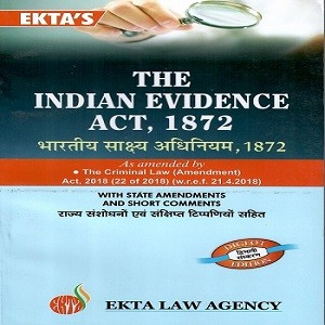 The Indian Evidence Act 1872 Bare Act [Diglot Edition 2020]