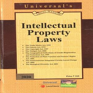 Universal's Intellectual Property Laws Legal Manual (Pocket Edition) [2020]