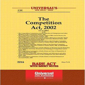 Universal's The Competition Act, 2002 (Bare Act) 2020