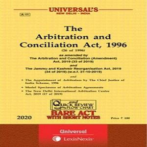 Universal's Arbitration and Conciliation Act, 1996 along with Scheme, 1996