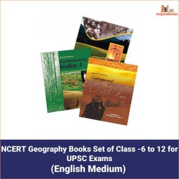 NCERT Geography Books Set of Class -6 to 12 for UPSC Exams