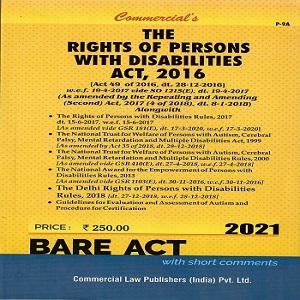 The Rights of Persons with Disabilities Act, 2016