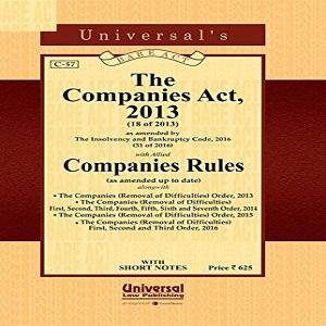 Universal's Companies Act 2013 With Companies Rules