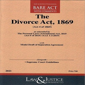 The Divorce Act 1869 [Bare Act 2021]-L&JP