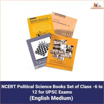 NCERT Political Science Books Set of Class -6 to 12 for UPSC Exams
