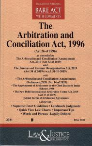 The Arbitration and Conciliation Act 1996 [Bare Act 2021]-L&JP
