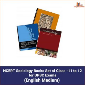 NCERT Sociology Books Set of Class -11 to 12 for UPSC Exams
