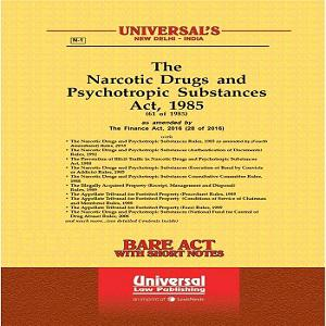 Universal's Narcotic Drugs and Psychotropic Substances Act, 1985 along with allied Act