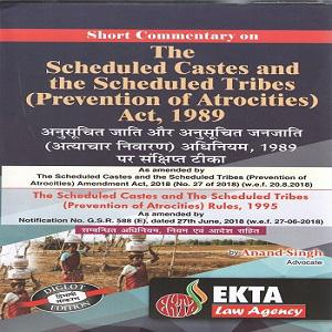 The Scheduled Castes And The Scheduled Tribes [Prevention Of Atrocities] Act 1989
