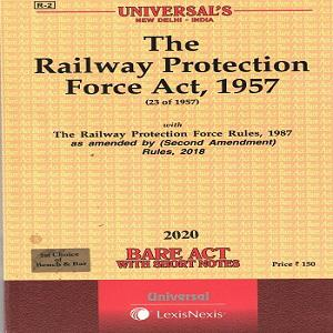 Universal's Railway Protection Force Act, 1957